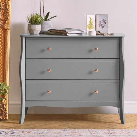 Grey Vintage Chest of Drawers