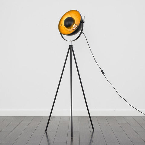 Black Bailey Floor Lamp