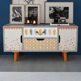 Retro Storage Cabinet TV Unit
