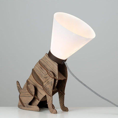 Dog & Lead Lamp