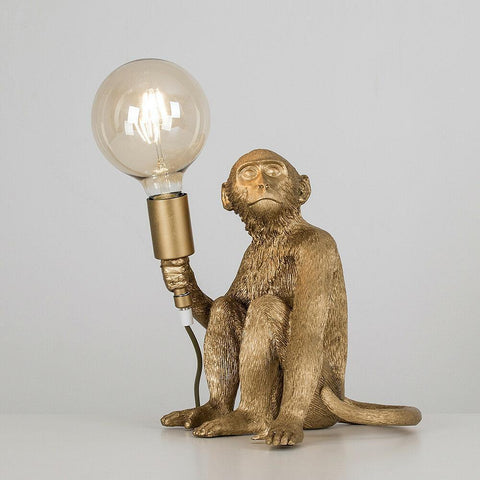 Golden Monkey Lamp