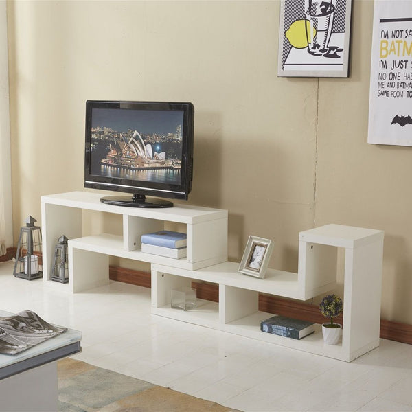 Modern TV Cabinet - Double L-shaped Design
