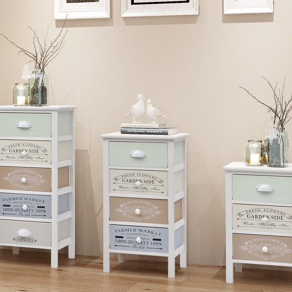 Shabby Chic French Chest of 4 Drawers