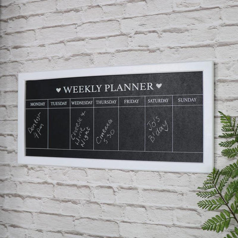 Chalk Board Weekly Planner
