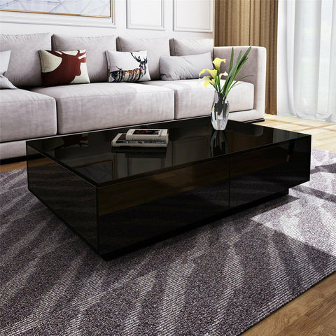 Black Gloss Brooklyn Coffee Table