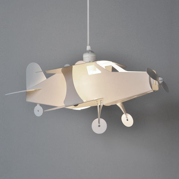 White Airplane Ceiling Lamp Shade