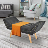 Sofa Grey Chaise Longue Bench