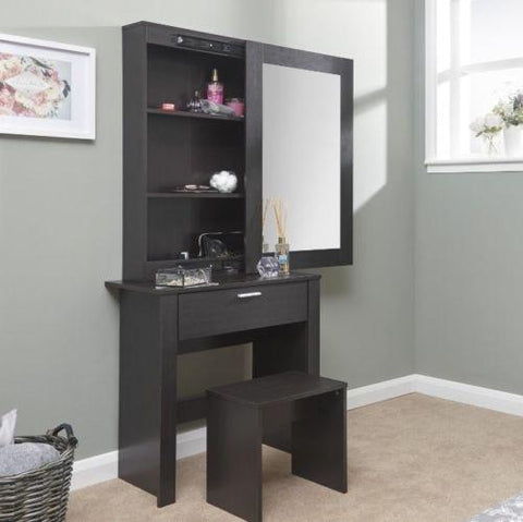 Black Como Dressing Table