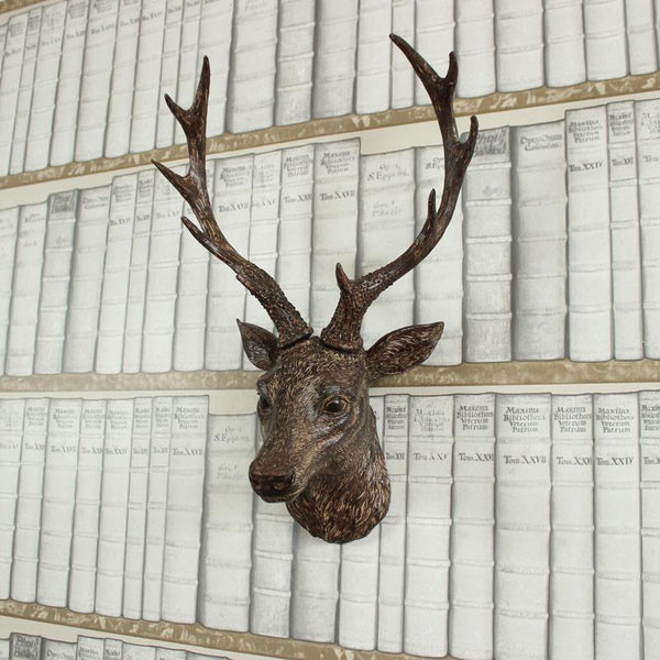 Large Resin Stags Head