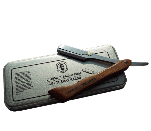 Mount Purious Classic Straight Shavette Razor (inc. blades)