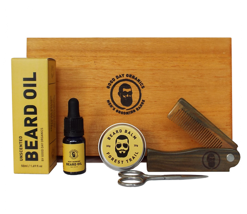 Organic Beard Grooming Gift Set (£36 - £70) - Good Day Organics Ltd