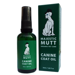 Organic Canine Sensitive Coat Oil (50ml) - Good Day Organics Ltd
