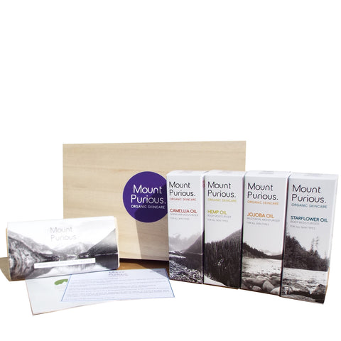 No. 7 - Simple Skin Organic Gift Box - A whole selection of products
