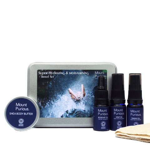 No. 11 - 'Super Hydrating & Moisturising' - Essential Holiday Travel Set