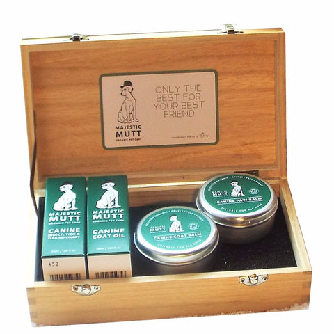 Complete MM Organic Canine Grooming Gift Set - Good Day Organics Ltd