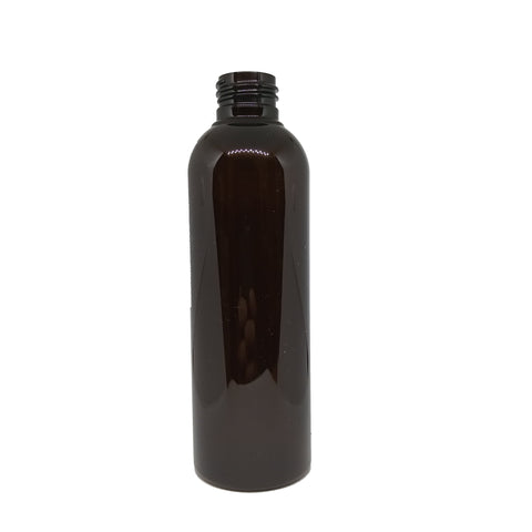 100ml / 200ml Amber Tall Bottle PET (5 pack) - Good Day Organics Ltd