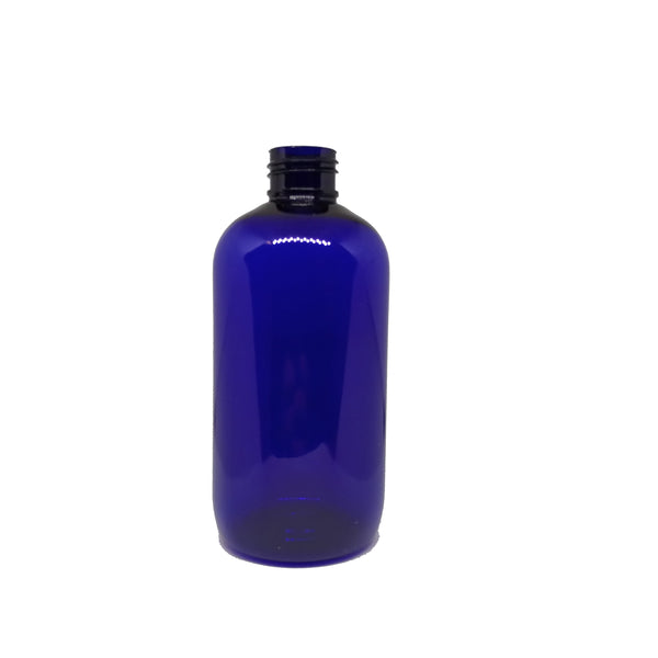 250ml Blue Boston Bottle PET (5 pack)