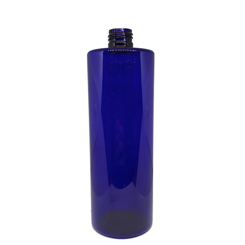 250ml / 500ml Blue Tall Round Bottle PET (5 pack) - Good Day Organics Ltd