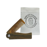 Sandalwood Folding Beard/Hair Comb