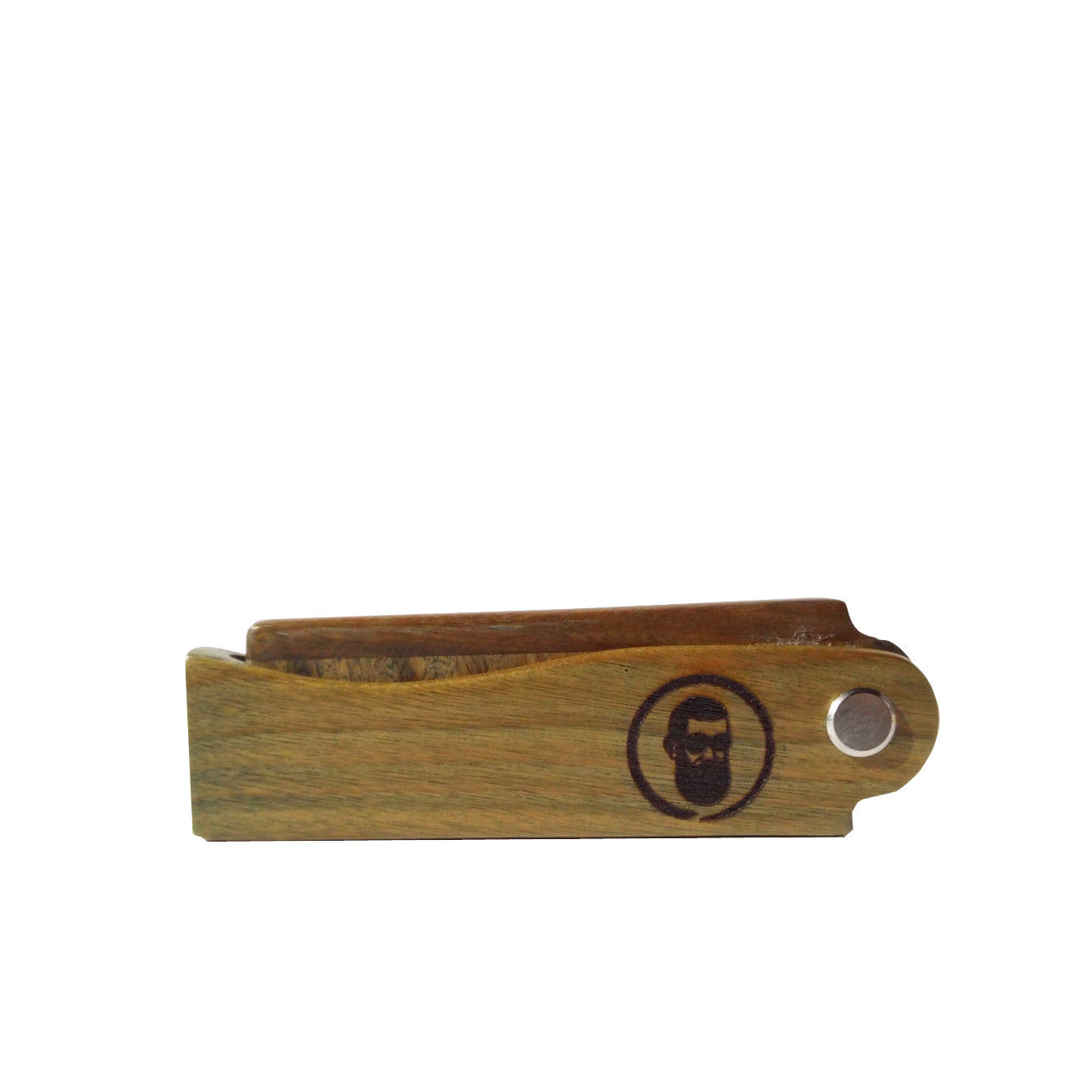 Sandalwood Folding Beard/Hair Comb  (Personalised) - Good Day Organics Ltd