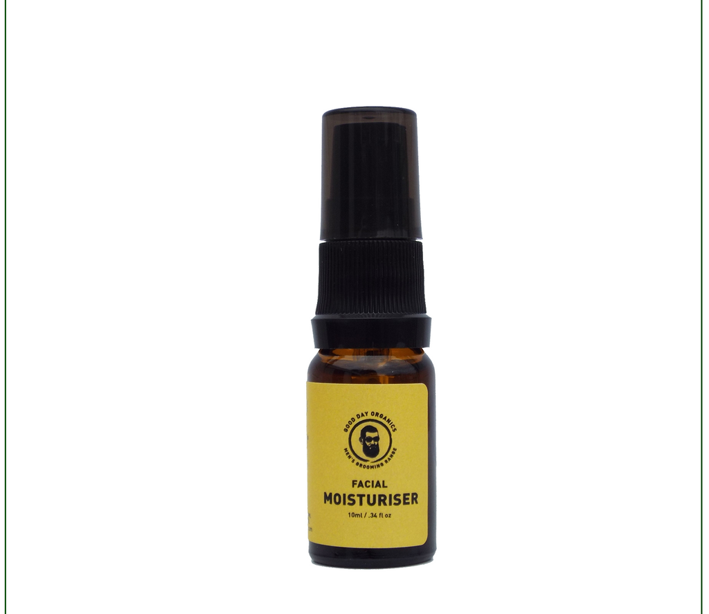 Organic Unscented Facial Moisturiser (10ml)