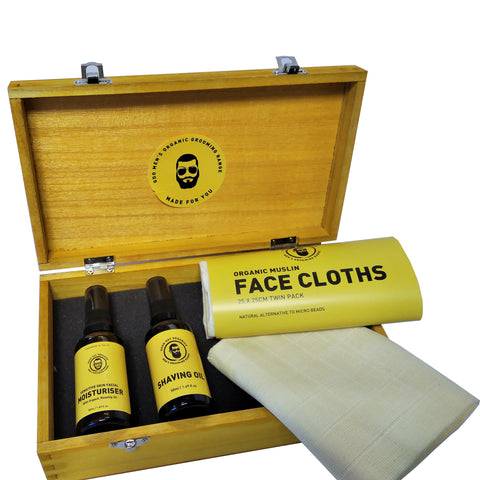 Organic Basic Facial Care Gift Box - Good Day Organics Ltd