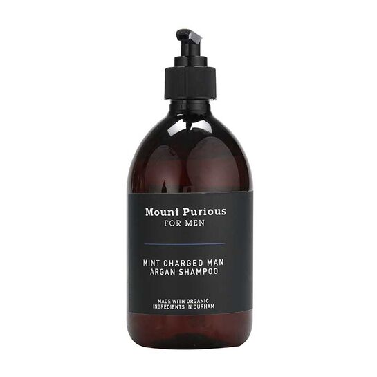 Mint Charged Man Organic Shampoo - 500ml