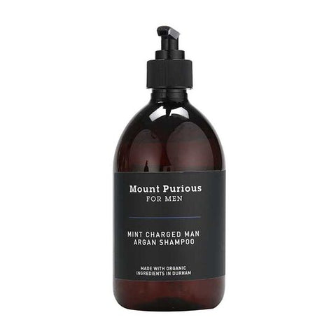 Mint Charged Man Shampoo - 500ml - Good Day Organics Ltd