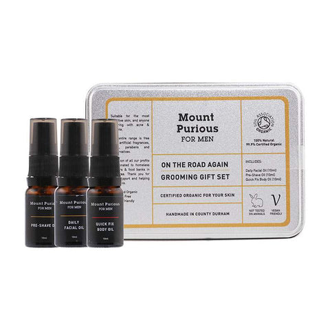 No. 1 - 'On The Road Again' Men's Grooming Gift / Travel Set