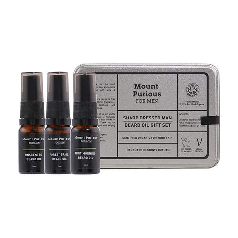 No. 2 - 'Sharp Dressed Man' Beard Oil Gift / Travel Set
