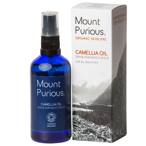 100% Pure Camellia Oil - Skin & Hair Mild Moisturiser (100ml) - Good Day Organics Ltd
