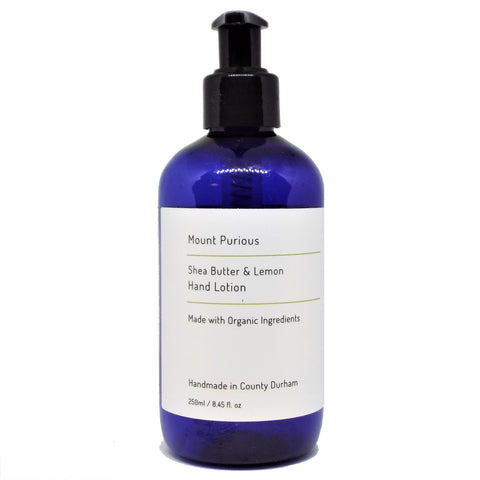 Organic Lemon Hand Lotion