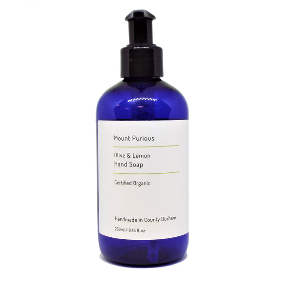 Organic Lemon Liquid Hand Soap