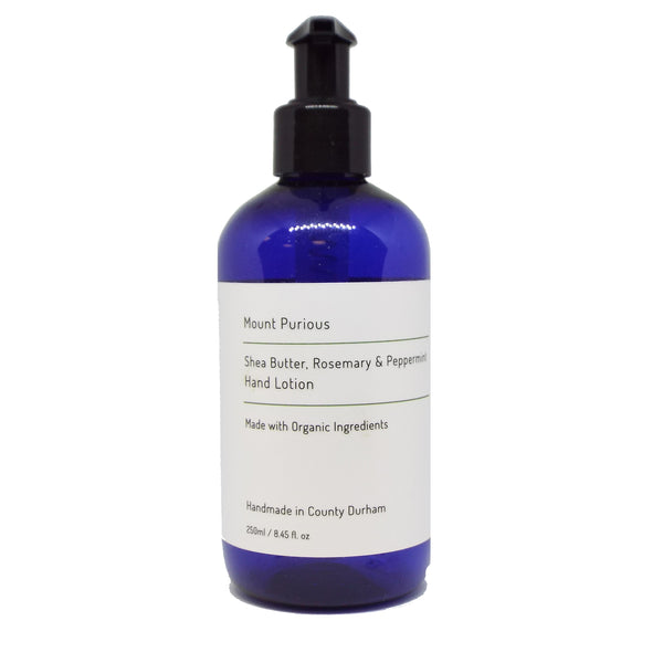 Organic Rosemary & Peppermint Hand Lotion