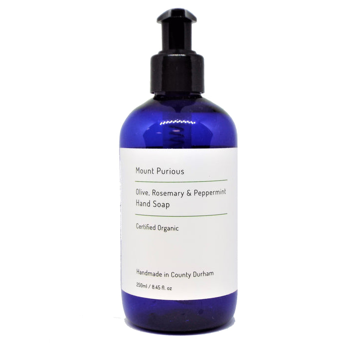 Organic Rosemary & Peppermint Liquid Hand Soap