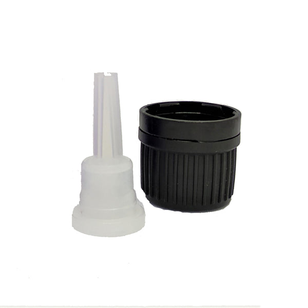 Black Screw Cap & Dropper Closure (Pack of 20)