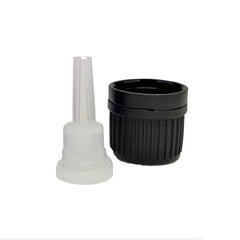 Black Screw Cap & Dropper Closure (Pack of 20) - Good Day Organics Ltd