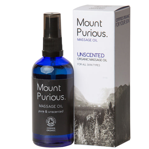 100% Pure Unscented Bath & Massage Oil - (100ml)