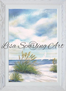 Afternoon Breeze I & Ii Pair Of Acrylic Lisa Sparling Originals Original