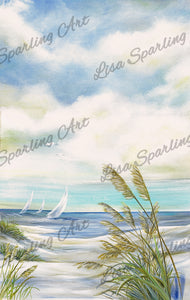 """Afternoon Breeze II"" Lisa Sparling Art Giclée Reproduction"