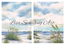 Afternoon Breeze I & Ii Pair Of Giclée Reproductions Giclee
