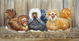 Wicked Chickens Lisa Sparling Giclée Reproduction Giclee Reproductions