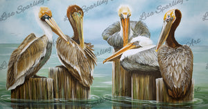 """Board Meeting"" Lisa Sparling Giclée Reproduction"