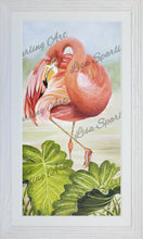 """Flamingo I"" Lisa Sparling Art Giclee Reproduction"