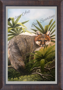 """Foxy"" Lisa Sparling Art Giclée Reproduction"