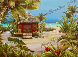 """Gone to the Beach"" Giclée Reproduction"