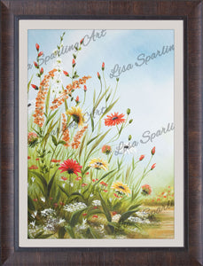 """Grandma's Flowers"" Giclée Reproduction"