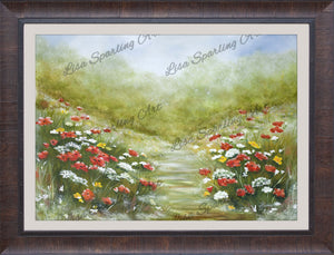 """Grandma's Garden"" Giclée Reproduction"