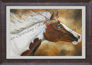 """Painted Dream"" Lisa Sparling Giclée Reproduction"