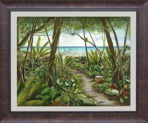 """Path To Paradise"" Lisa Sparling Giclée Reproduction"